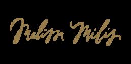 Logo Melissa Milis goud